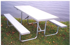 Heavy Duty Picnic Table - ALUMINUM
