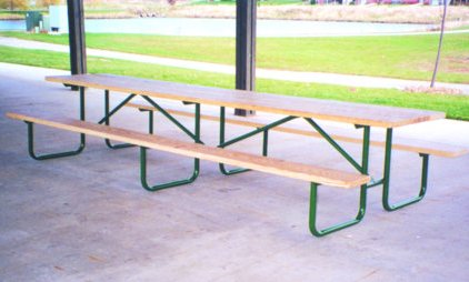 Heavy Duty Shelter Table - TREATED Lumber