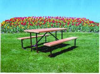 Heavy Duty Picnic Table - TREATED Lumber
