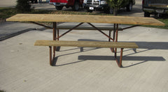 Wheelchair Heavy Duty Table - TREATED Lumber