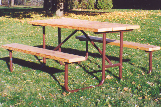 Traditional Picnic Table - TREATED Lumber