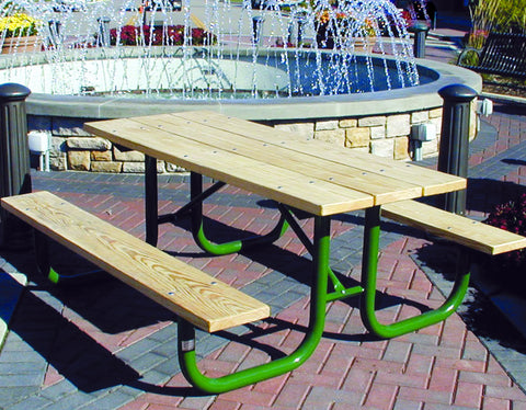 Monster Picnic Table - TREATED Lumber