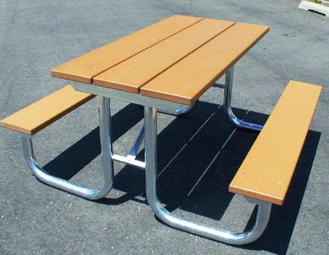 Monster Picnic Table - RECYCLED PLASTIC Lumber