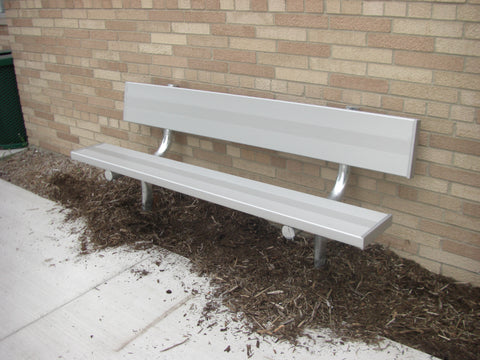 Heavy Duty Park Bench - FRAME ONLY