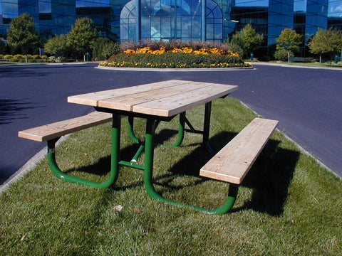 Monster Picnic Table - UNTREATED Lumber