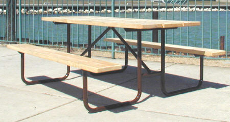 Traditional Picnic Table - UNTREATED Lumber