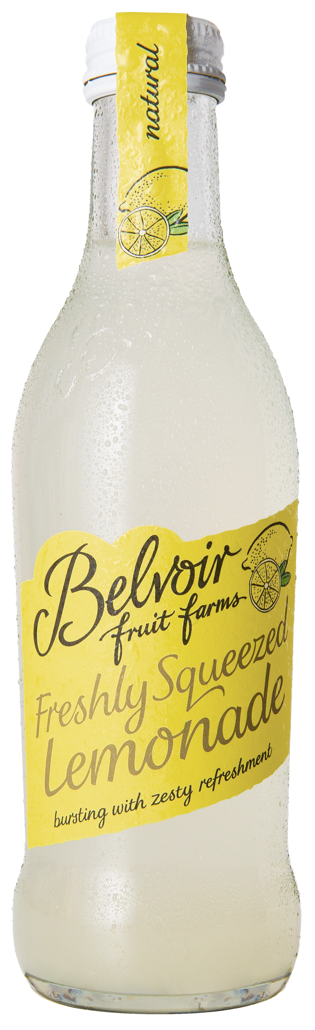 Belvoir Freshly Squeezed Lemonade 12 x 25cl