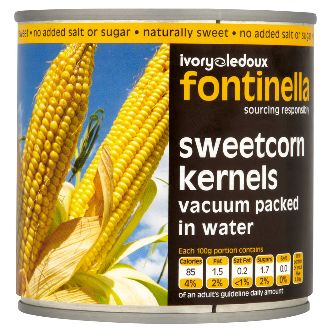 Tinned Sweet Corn 340g