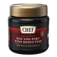 Load image into Gallery viewer, CHEF® Red and Port Wine Reduction Paste 450g