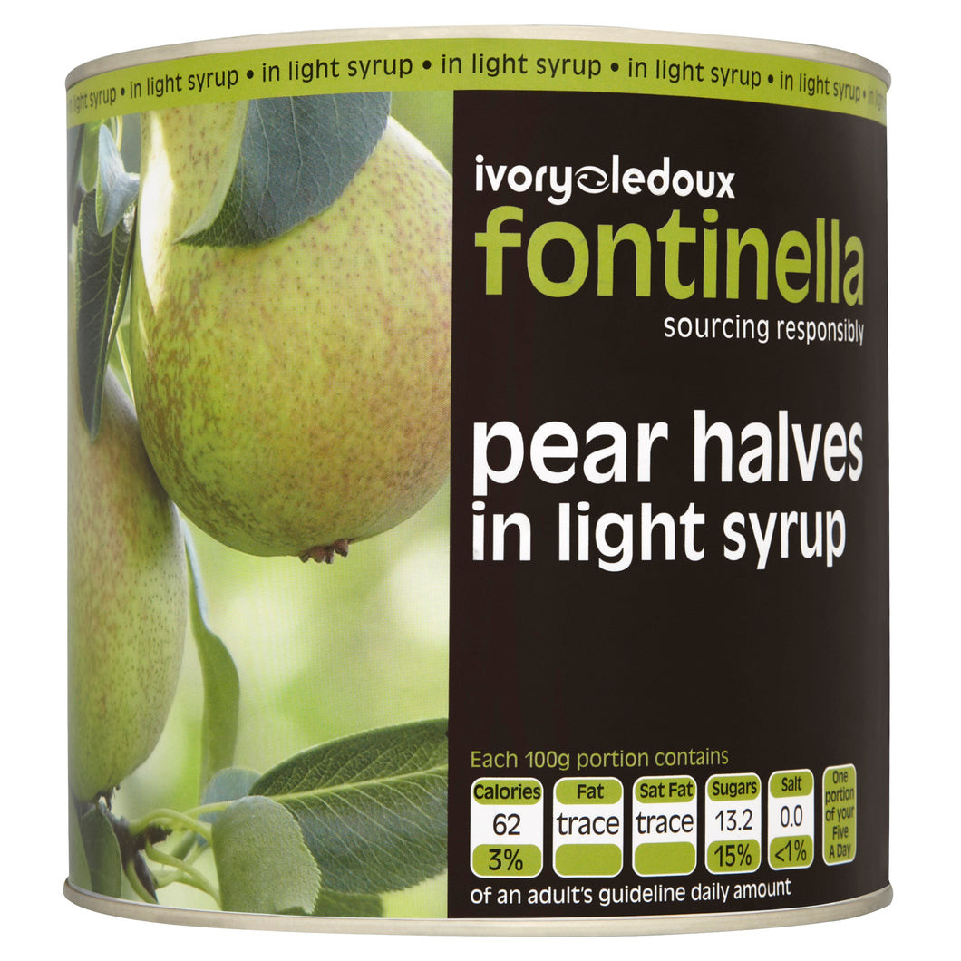 Tinned Pear Halves 2.5kg