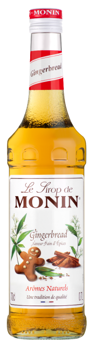 Monin Gingerbread Syrup (Glass) 70cl