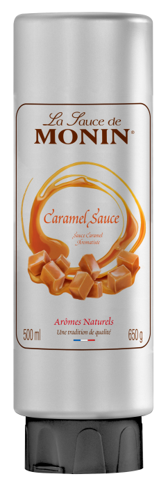 Monin Salted Caramel Sauce 500ml Parkers Foodservice Ltd