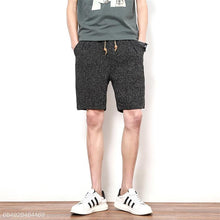 Load image into Gallery viewer, Casual Elastic Waist Sport Loose Shorts