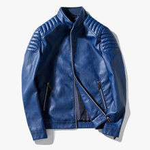 Load image into Gallery viewer, Men's Pu Leather Jacket 3 Colors
