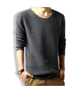 Solid Color Fashion Pullover Sweater 3 Colors
