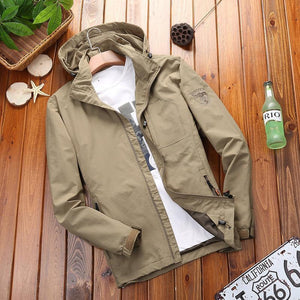Casual Outdoor Sport  Plain Jacket