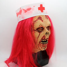 Load image into Gallery viewer, Zombie Doctor Scary Mask