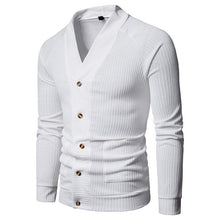 Load image into Gallery viewer, Fashion V Collar Plain Button Knit Coat