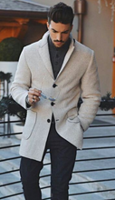 Load image into Gallery viewer, Fashion Mens Warm Outerwear Coat