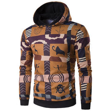 Load image into Gallery viewer, Chic Casual Floral Printed  Cotton Hoodie