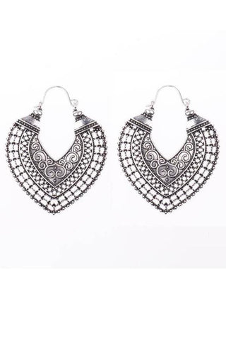 Hollow   Vintage Ethnic Earrings