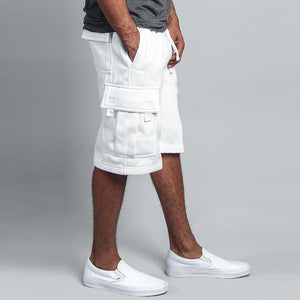 Casual Multi-Pocket Loose Straight Tooling Five-Point Shorts
