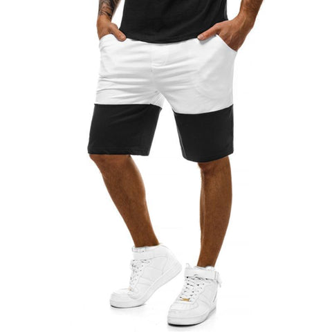 Slim Fit Color Fitness Shorts