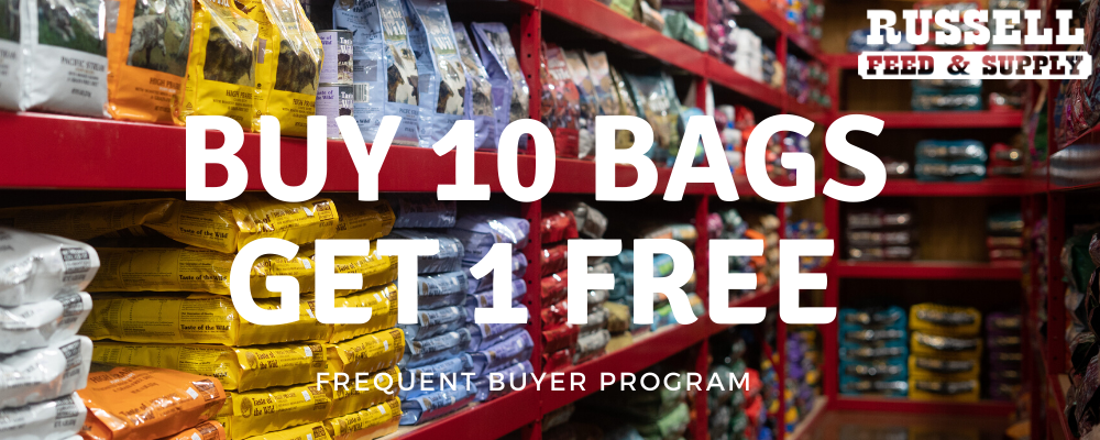 Frequent Buyer Dog (Buy 10 bags, get 1 FREE)