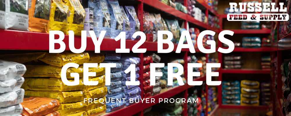 Frequent Buyer Dog (Buy 12 bags, Get 1 FREE)