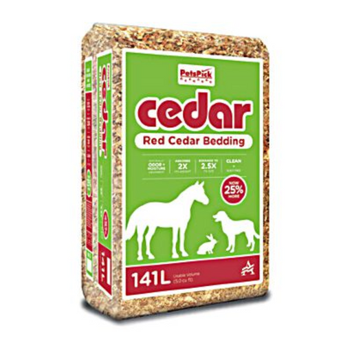 Cedar Shavings Bedding 5 Cu. Ft. Expanded