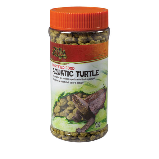 Zilla Aquatic Turtle Extruded Food Pellets 6oz