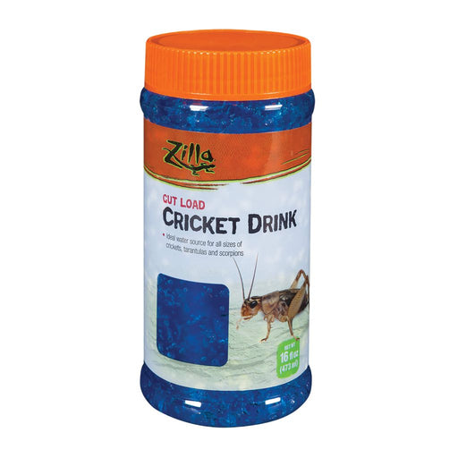 Zilla Gut Load Cricket Drink BLUE 16oz