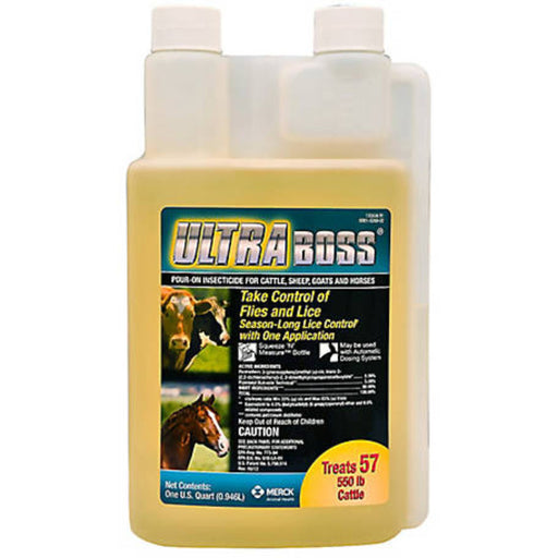 Merck Ultra Boss Pour-On Insecticide 32oz