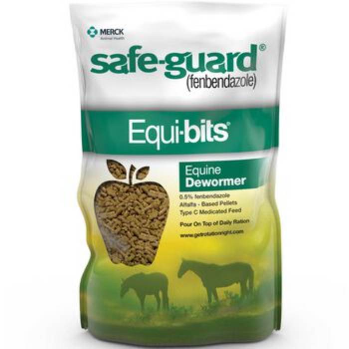Safe-Guard Equi-Bits Horse Dewormer Supplement 1.25 lb