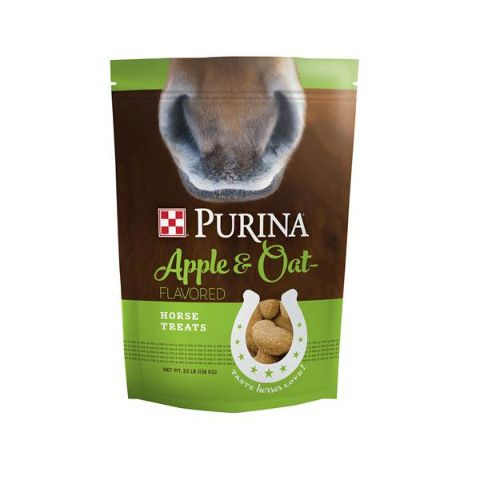 Purina Apple and Oat Flavored Horse Treats 3.5lb