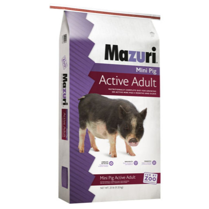 Mazuri Mini Pig Active 25lb