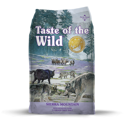 Taste of the Wild Grain Free Sierra Mountain with Roasted Lamb 28lb
