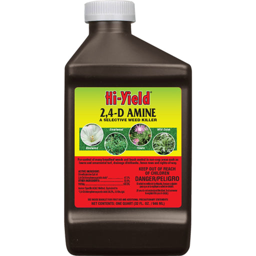 Hi-Yield Selective Weed Killer 2-4-D 32oz
