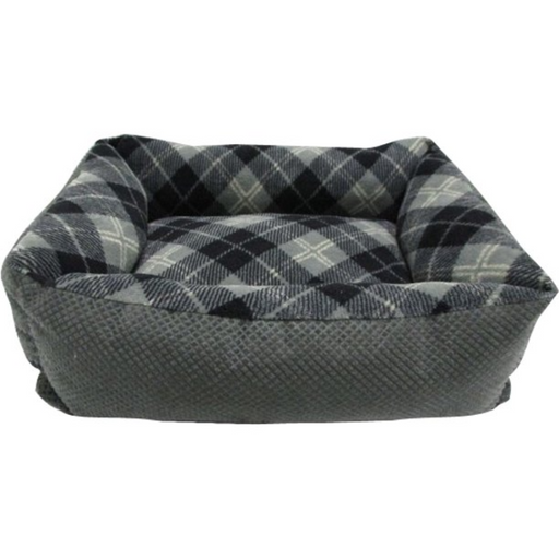 Petmate Beds Tartan Plaid Small Lounger Assorted 20x15