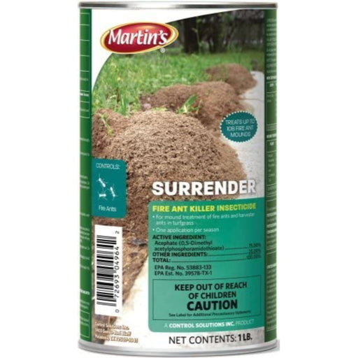 Martin's Surrender Fire Ant Killer Acephate 75sp 1lb
