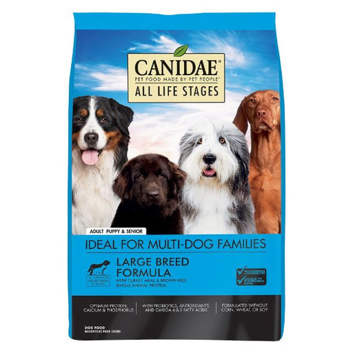 Canidae Dog Large Breed Turkey & Rice 44lb