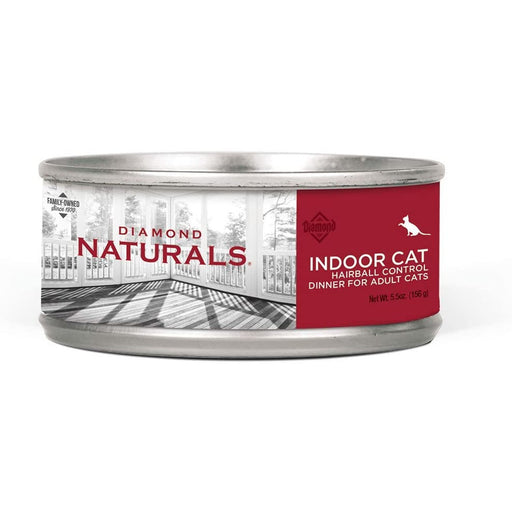 Diamond Natural Indoor Hairball Can 5.5oz 24ct