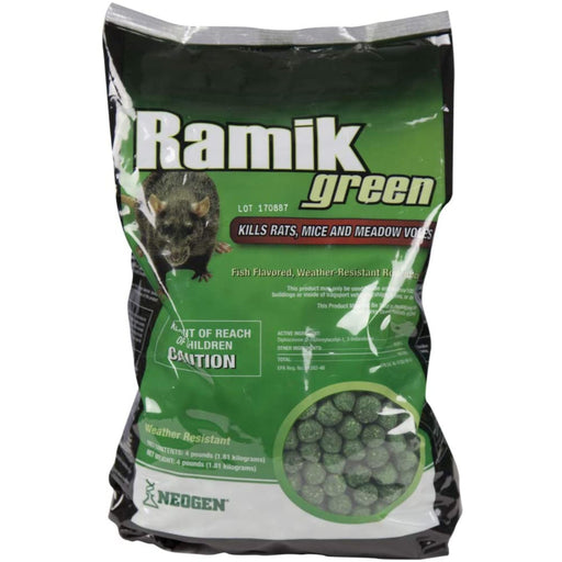 Ramik Rat Bait Nuggets 4lb