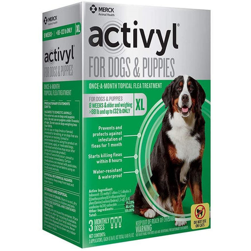 Activyl Dog 88-132lb Extra Large 3 Month