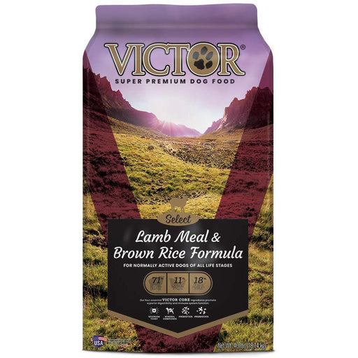 Victor Dog Food Select Lamb Meal And Brown Rice With Chicken Meal 40lb