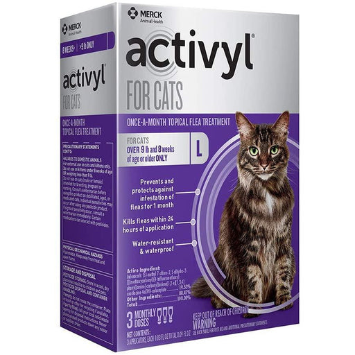 Activyl Cat 9lb & Up Large 3 Month