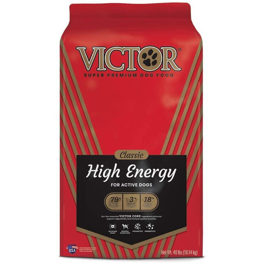 Victor Classic - High Energy, Dry Dog Food 40lb