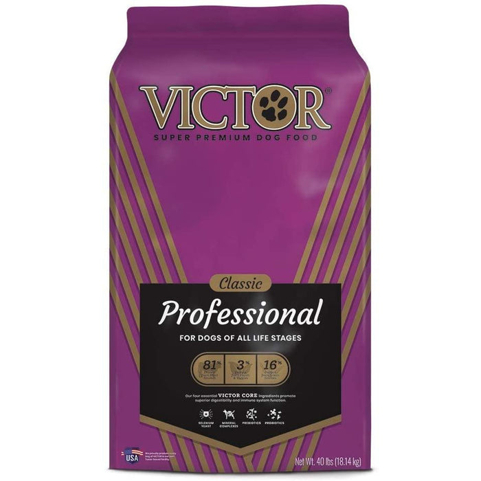 Victor Classic - Professional, Dry Dog Food 40lb