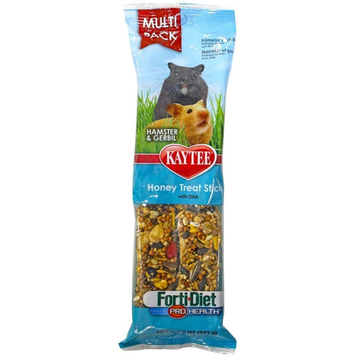 Kaytee Forti-Diet Pro Health Honey Stick Hamster & Gerbil Treats 8oz