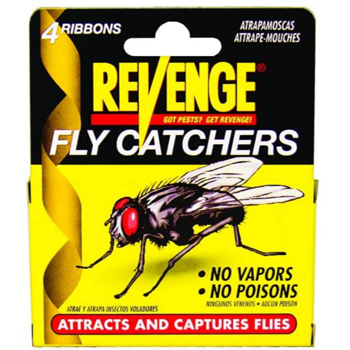 Bonide Revenge Fly Ribbon 4 Pack